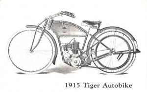 1915 Tiger Autobike - Motorcycle