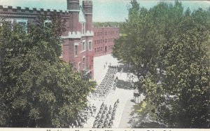 CULVER, Indiana, 1910s; Marching to Mess, Culver Military Academy