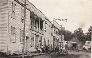 RP: Brownsburg-Chatham , Quebec, Canada, 1900-10s ; Main Street