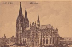 Der Rhein, Dom, Coln (North Rhine-Westphalia), Germany, 1900-1910s