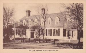 Raleigh Tavern Williamburg Virginia