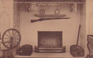 Washington Spokane Fireplace Colonial Room Eastern Washington State Historica...