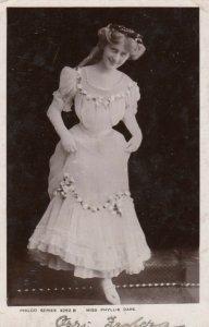 RP:  Actress Miss Phyllis Dare , 1906