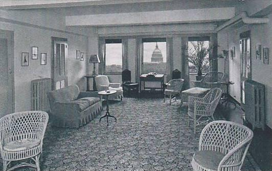 Interior , Dodge Hotel , Washington D.C. , 20-40s