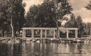 Skowhegan, Maine, ME, Lakewood Pergola, 1935 Antique Vintage Postcard g2201