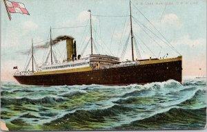 SS Lake Manitoba Steamer CPR Line Ship Boat Unused Postcard F13