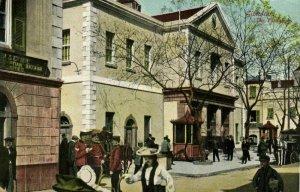 Gibraltar, The Exchange (1910s) V.B. Cumbo Postcard