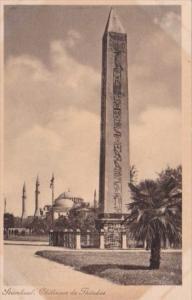 Turkey Stamboul Obelisque de Theodos
