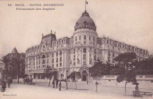 NICE, Provence-Alpes-Cote D'Azur, France, 1900-1910s; Hotel Negresco, Promena...