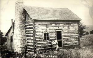 Jim Lane Cabin Taney County MO Matt's Cabins Real Photo Postcard dcn