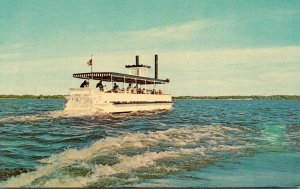 Iowa Clear Lake Show Boat Excursion Boat