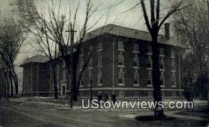 Franklin College, printed photo Franklin IN 1911