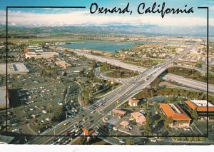California Oxnard Aerial View Showing Vineyard Avenue Crossing Thw 101 Freeway
