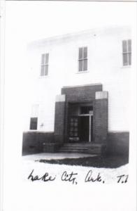 Craighead County Court House Lake City Arkansas Real Photo