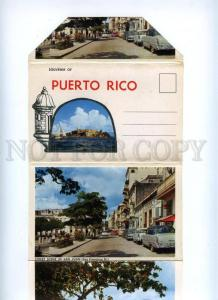 168092 PUERTO RICO Enchanted Island Views AIRPORT old Booklet