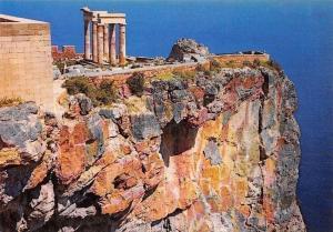 Greece Rhodes Acropolis of Lindos, L'Acropole