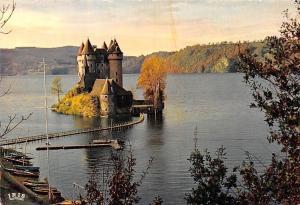 France Gorges de la Dordogne, Le Chateau de Val Castle, Lake Boats Bateaux