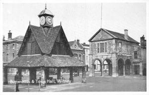 Witney Buttercross & Town Hall Bicycle Bike Auto Car Greetings