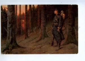 233352 WAR vision GHOST by PETIT-GERARD old SALON 1912 LAPINA