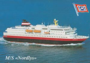 MS Nordlys Postcard