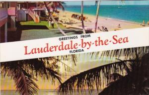 Florida Greetings From Lauderdale-By-The-Sea