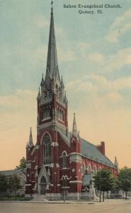QUINCY , Illinois , 00-10s ; Salem Evangelical Church