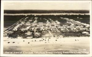 Ellinor Village FL Real Photo Postcard