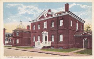ANNAPOLIS, Maryland, 00-10s; Howard House