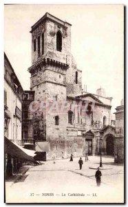 Old Postcard Nimes La Cathedrale