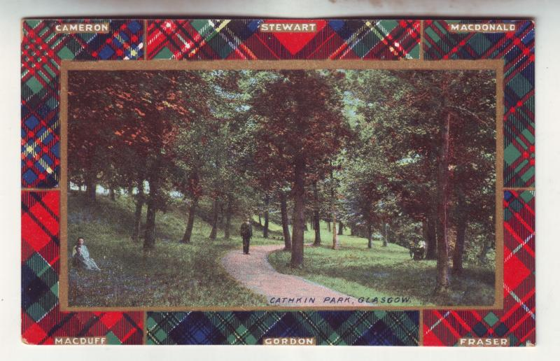 P925 old card cathkin park glasgow scotland