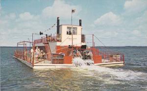 Sternwheeler Boat The Bemidiji Bell , Lake Bemidiji , Minnesota , 50-60s