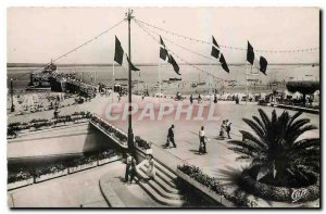 Old Postcard Arcachon Cote d'Argent La Place Thiers and the Underground