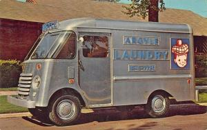 Chicago IL Argyle Laundry Delivery Truck Postcard