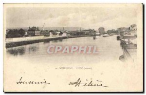 Old Postcard The Compiegne Oise