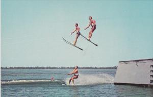 Water-Skiing , High Jumping , Cypress Gardens , Florida , 50-60s