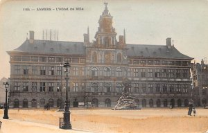 L'Hotel de Ville Anvers Belgium Unused