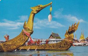The Supannahongse and Ananta-na-Garaj, Thai Royal State Barge, Bangkok, Thail...