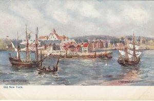 NEW YORK CITY, 1901-07 ; When New Amsterdam ; TUCK 2327