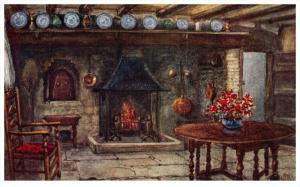Stratford-Upon-Avon   Anne  Hathaway's Cottage  The Kitchen