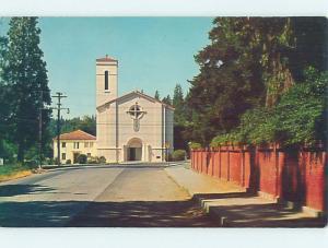 Unused Pre-1980 CHURCH SCENE Grass Valley California CA hs6902