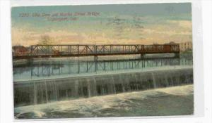 Uhls Dam & Market Street Bridge, LOGANSPORT , Indiana, PU-1912