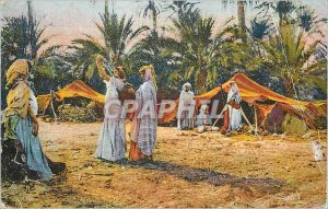 Old Postcard Scenes and North Africa Types of Water Supply in the Oasis
