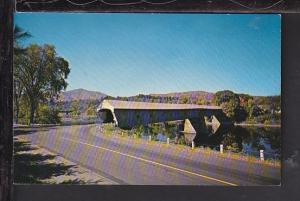 Windsor Covered Bridge,Windsor,VT Postcard