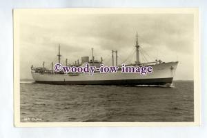 pf0335 - Swedish East Asia Cargo Ship - Ceylon , built 1950 - postcard