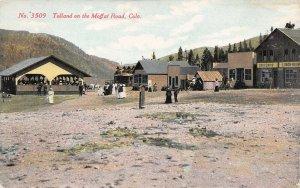 LPS02 Tolland Colorado Moffat Road Town View Postcard