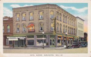 Hotel Badger - Burlington WI, Wisconsin - WB