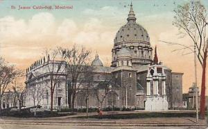 Exterior, St. James' Cathedral, Montreal, Canada, PU-1909