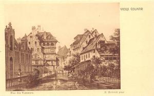France Vieux Colmar Rue des Tanneurs M. hertrich Pinx