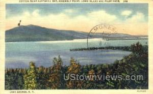 Long Island Lake George NY 1938