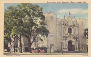 Alabama Mobile Government Street Methodist Church Curteich